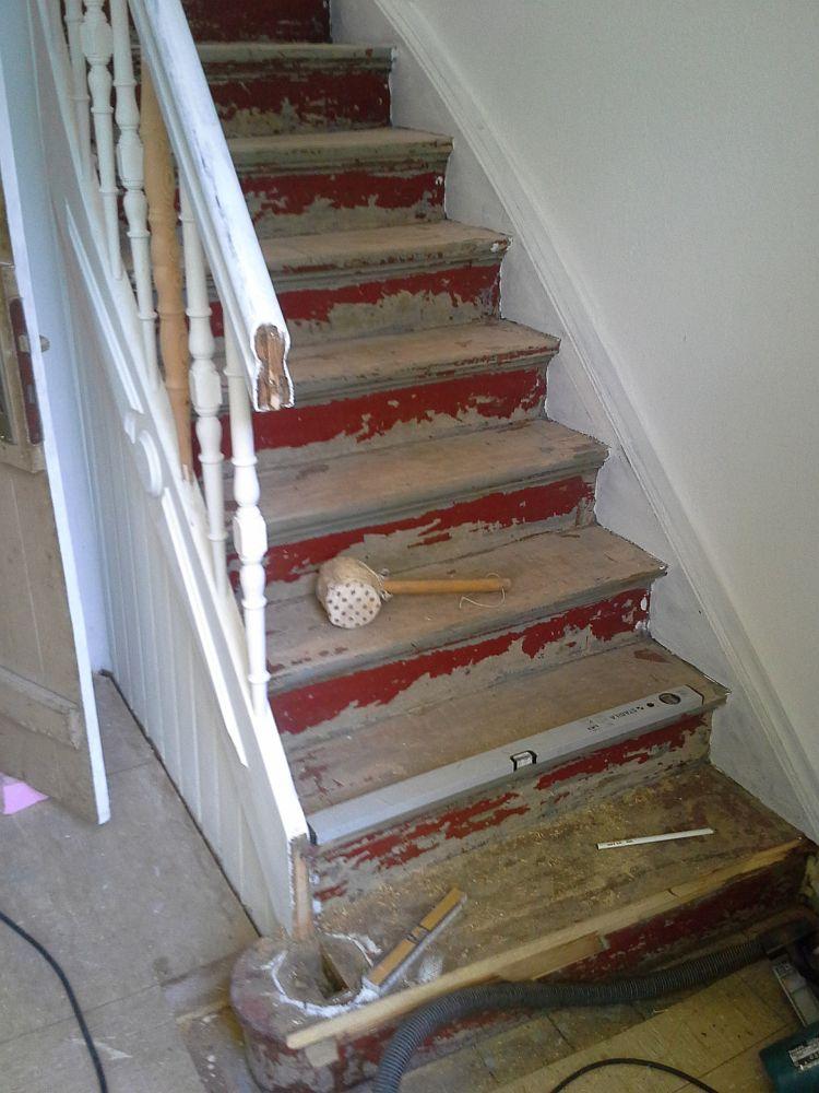treppe sanieren great schne dekoration sanierung. Black Bedroom Furniture Sets. Home Design Ideas